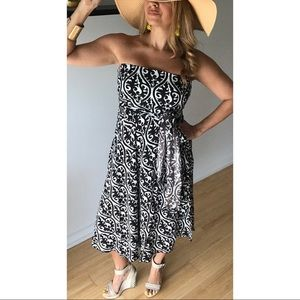 Dresses & Skirts - 🌿NEW🌿Effortless Strapless Midi Convertible Dress